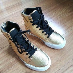 Supra Gold Skytop Kids Shoes Hightops